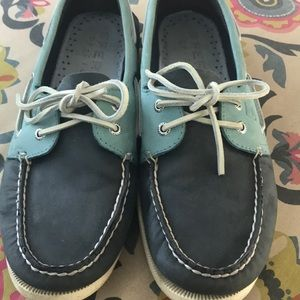 Sperry men's leather boat shoe